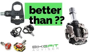 Download Are SPDs less efficient than ″road″ pedals? Video
