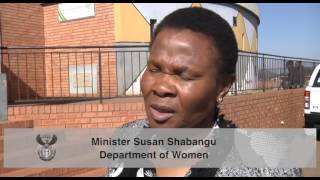 Download Minister Susan Shabangu hosts dialogue with young women during Women's Month Video