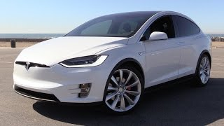 Download 2016 Tesla Model X P90D Signature w/Ludicrous Mode - Power Up, Test Drive & In Depth Review Video