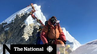 Download Climbers point to overcrowding as reason for multiple deaths on Everest Video