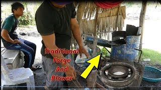 Download Making A Knife From Bearing For The First Time Has Gone Wrong (The Blower And The Forge) Video