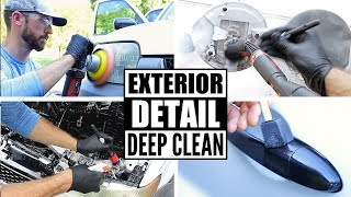 Download Complete Disaster Full Car Exterior Detailing! Deep Cleaning A Ford Escape Video