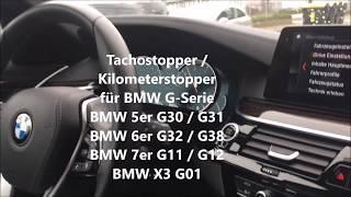 Download MILES STOP Freezer KM STOP BMW G30 G31 Kilometer Stopper BMW KM Stopper BMW Tacho Stopper BMW G30 M Video