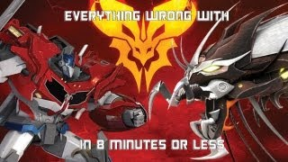 Download Everything Wrong With Predacons Rising in 8 Minutes or Less (CinemaSins Parody) Video