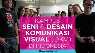 Download Daftar Kampus dengan Jurusan Seni dan Desain Komunikasi Visual (DKV) Terpopuler di Indonesia Video