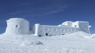 Download WORLDS BIGGEST SNOW FORT! 24 Hour Challenge In An IGLOO Video