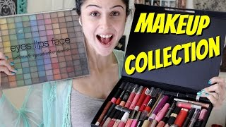 Download My Makeup Collection + Organization !!! Video