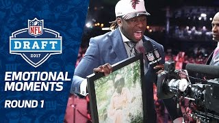 Download Most Emotional Moments (Round 1) | 2017 NFL Draft Video