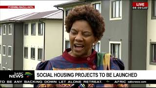 Download Human Settlements Minister Mfeketo launches housing project in KZN Video