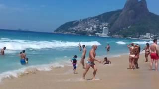 Download Praia de Ipanema Próximo ao Posto 9 Video