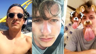 Download Charlie Puth singing with Family on Snapchat | September 5 2016 Video