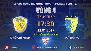 Download FULL | TP. HỒ CHÍ MINH vs HÀ NỘI FC (1-3) | VÒNG 4 V LEAGUE 2017 Video