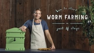 Download How to start a worm farm in 4 steps: vermiculture made easy Video