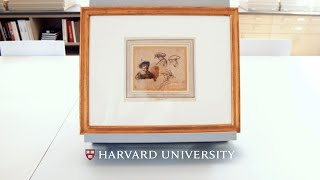 Download Recently acquired work by Rembrandt on view at Harvard Video