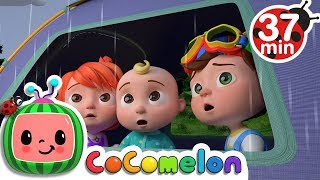 Download Rain Rain Go Away | +More Nursery Rhymes & Kids Songs - ABCkidTV Video