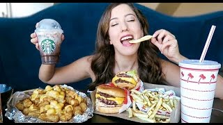 Download IN N OUT BURGER Animal Style MUKBANG! (Eating Show) Video