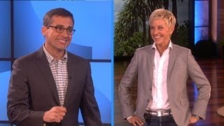 Download Steve Carell and Ellen Play Charades Video