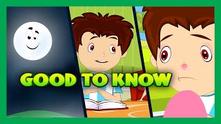 Download Things To Know - Kids Video | Basic Science For Kids | Good To Know - That's a Good Question Video