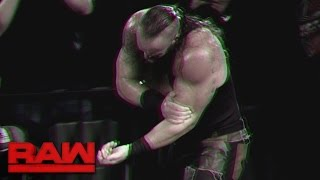 Download A look back at Roman Reigns' intense assault on Braun Strowman: Raw, May 15, 2017 Video