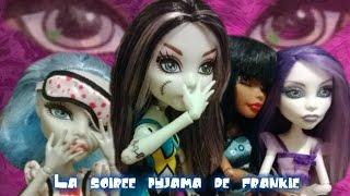 Download La soirée pyjama de frankie - Monster high Video