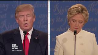 Download Watch the full third presidential debate between Hillary Clinton and Donald Trump Video