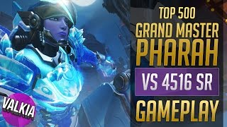 Download Grand Master Pharah [Top 500] vs 4516 SR || Valkia Video