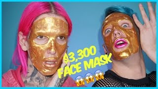 Download $3,300 GOLD FACE MASK??!! Review + Demo feat. Laganja Estranja Video