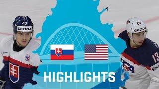 Download Slovakia - USA | Highlights | #IIHFWorlds 2017 Video