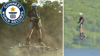 Download Farthest flight by hoverboard - Guinness World Records Video