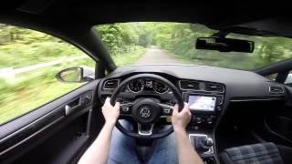 Download VW Golf GTE 204BHP POV test drive GoPro Video