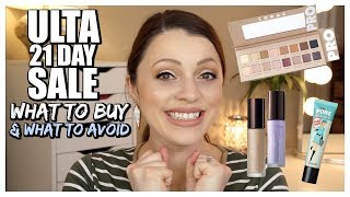 Download What to Buy & What to Avoid | ULTA 21 DAYS OF BEAUTY SALE Video