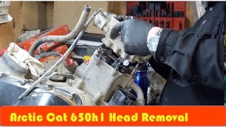 Download Arctic Cat 650H1 How to Remove Head DIY Video