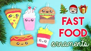 Download How to Make DIY Fast Food Christmas Ornaments! Video