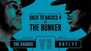 Download KOTD - Rap Battle - The Saurus vs Daylyt | #B2B4 Video