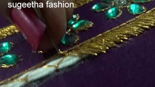 Download aari work blouse tutorial Video