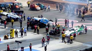 Download NHRA FUNNY CARS VEGAS 4 WIDE Video
