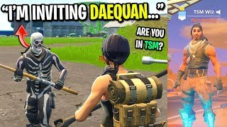 Download I put TSM in my Fortnite name so people would believe I'm a pro player... Video