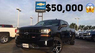 Download All Black 2017 Chevrolet Silverado LT Z71 (5.3L V8) - Review Video