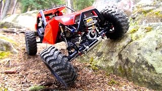 Download RC ADVENTURES - DiSCOVERiNG the CAPO ACE 1 4x4 RC Truck / Rock Buggy - 1/10th Scale Triumph Testing Video