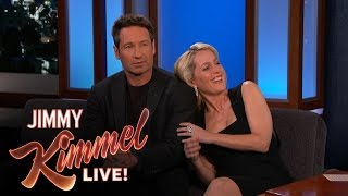 Download David Duchovny & Gillian Anderson Explain their 90's Tension Video
