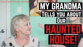 Download My Grandma talks about OUR HAUNTED HOUSE! | Paranormal Storytime... Video