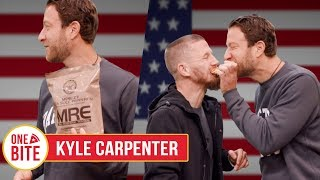 Download (Kyle Carpenter) Barstool Pizza Review - MRE Military Pizza Video
