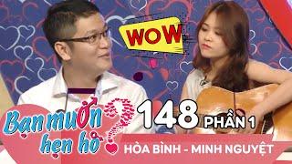 Download Quyền Linh - Cát Tường cười ngất vì cặp đôi có gu 'độc - lạ' | Hòa Bình - Minh Nguyệt | BMHH 148 😆 Video