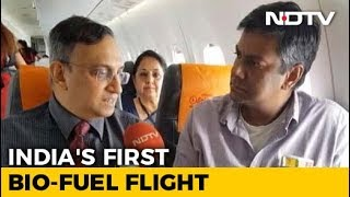 Download Exclusive: On-Board India's First Bio-Jet Fuel Flight Video
