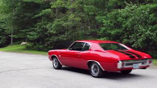 Download 1970 Chevelle SS 396 with Flowmaster Super 10 and hedman headers Video