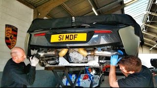 Download Fitting A Larini GT1 Exhaust To My McLaren 540C Video