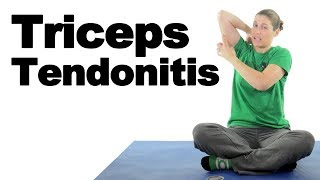 Download Triceps Tendonitis Treatment Stretches & Exercises - Ask Doctor Jo Video