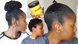 Download The Best Gel Ever! Testing Out Style Factor Edge Booster Gel On Super Short 4C Natural Hair! Mona B. Video