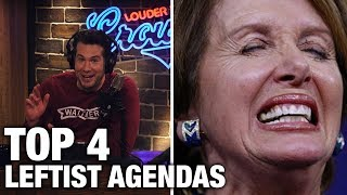 Download TOP 4: Leftist Agendas That Will Re-Elect Trump! | Louder With Crowder Video