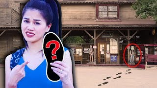Download FOUND PROJECT ZORGO FOOTPRINTS & HIDDEN NOTE Exploring Old Abandoned Ghost Town in Real Life Video